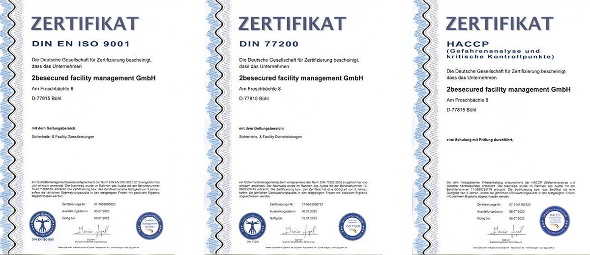 Zertifikate-Beitrag